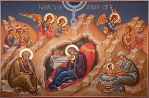 Icono de la Natividad