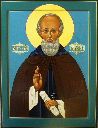 Icono de San Beda el Venerable