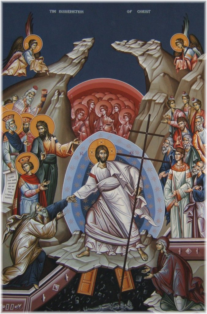 Icono de la resurrección de Cristo