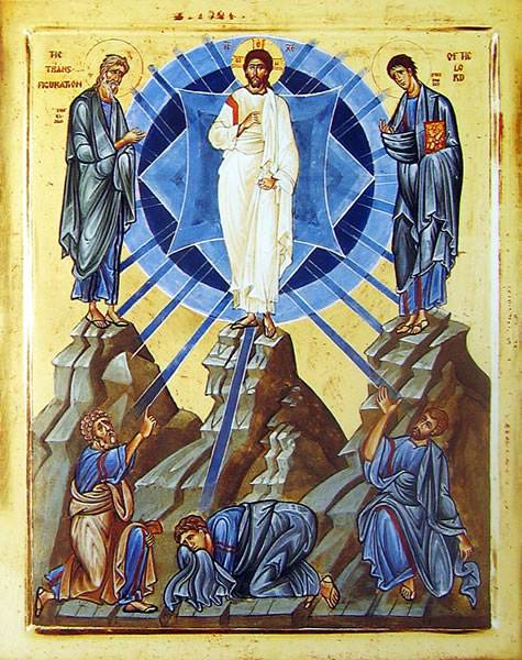 Icono de la transfiguracion