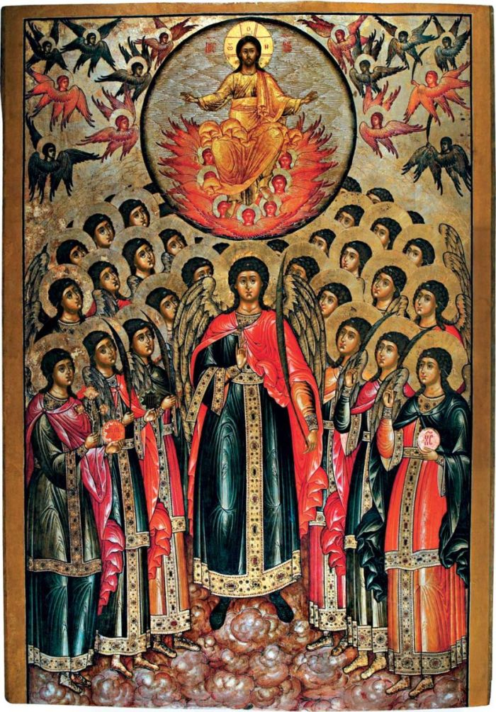 sinaxis de San Miguel y los demás poderes celestiales