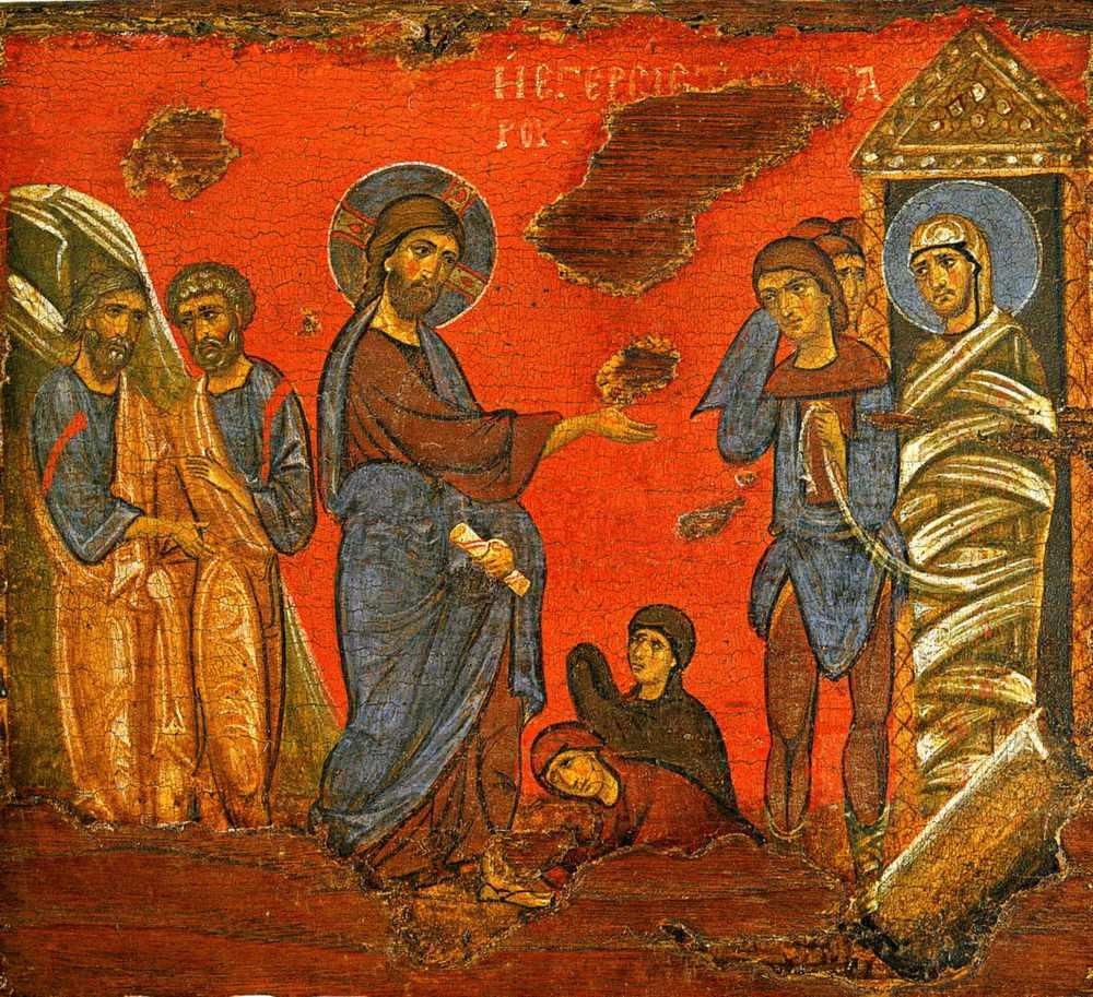 La resurrección de Lázaro por San Juan Crisóstomo – Cristo es Ortodoxo