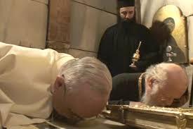 papa francisco y patriarca bartolomeo en jerusalen