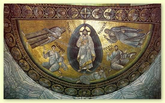 Mosaico de la Transfiguración del monasterio de Santa Catalina del Sinaí