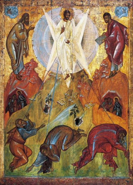 Transfiguration, an early-15th century icon from the Tretyakov Gallery, attributed to Theophanes the Greek