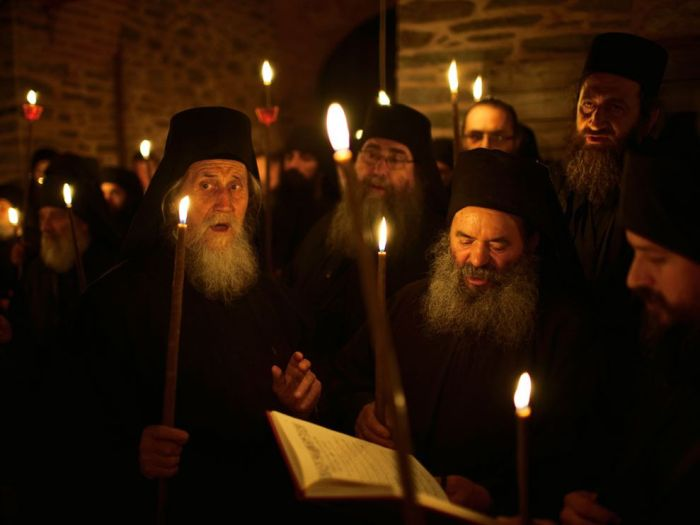 mount-athos-monks-chanting