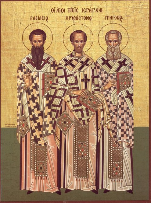 the-three-holy-hierarchs-saints-basil-the-great-john-chrysostom-gregory-the-theologian