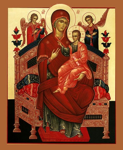 Икона Божией Матери«Всецарица» -1